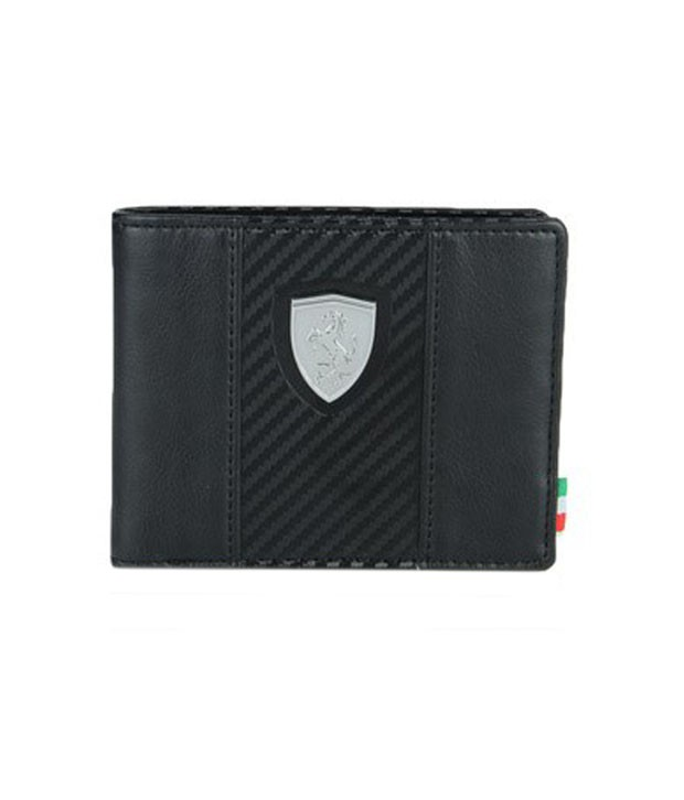 puma ferrari wallet black