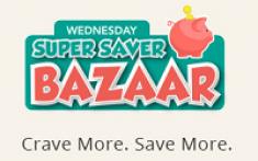 Wednesday super saver Bazaar,products at lowest price,Maximum discount on products,high voltage sale,home makers sale,wednesday sale on shopclues,super saver bazaar shopclues,lowest price sale on shop