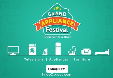 Flipkart Grand Appliance Festival Sale: Home Appliances & Kitchen ...