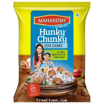 aaramshop Get a Free Sample of Mahakosh Soya Chunks