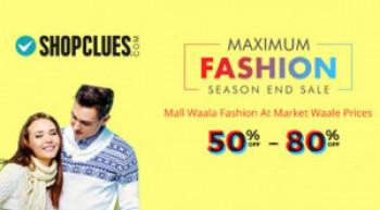 Shopclues All men & women Fashion wear Rs 99/- Apply code PREPAID50