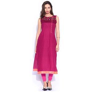 Myntra Vishudh Pink Printed Kurta Aug 2020 Freeclues