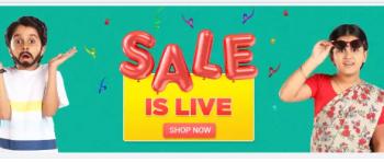 Flipkart sale live 1-3 August