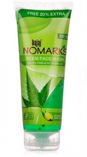 aaramshop 50% Off on Bajaj Nomarks Neem Facewash