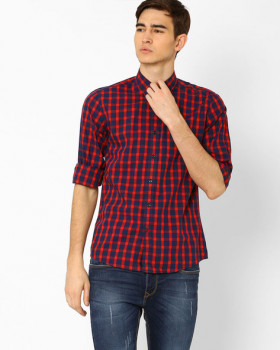 Abof Flat 70% Off WRANGLER Classic Yarn Dyed Checked Shirt