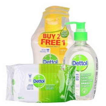 Dettol and Mom kit for Free -with casback paytm
