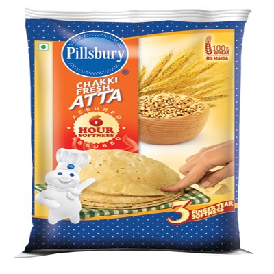 aaramshop Rs.59/- off on Pillsbury Chakki Fresh Atta