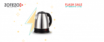 Paytm Loot Rs 1 sale Electric Kettle on 29 march 2 pm