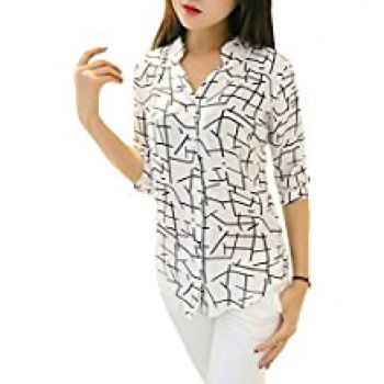 546cee35f OSLC Women's Shirt Tops for Women Girls Ladies Latest Stylish Designer  Partywear Western Collection