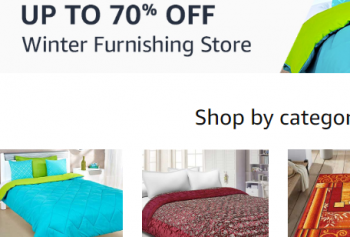 Amazon Winter sale : Upto 30% to70% Off On Winter Clothing + Extra 10% CB
