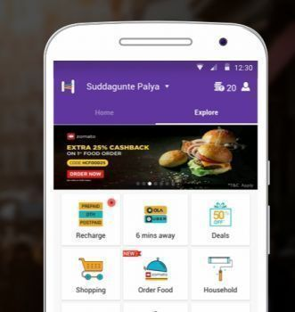 Tapzo Flat Rs. 20 Cashback on Recharge of Rs. 50