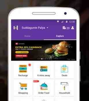Helpchat Flat Rs. 15 cashback on Recharge of Rs. 50 and above (All Users)