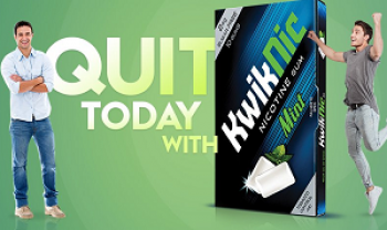 free sample of KWIKNIC Nicotine Chewing Gum