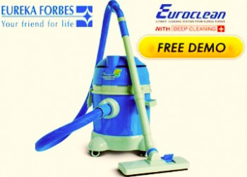 Book a FREE Demo Of Euroclean Vaccum Cleaners