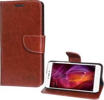 sale retailer b1af2 c9872 Flipkart DMG Wallet Case Cover for Xiaomi Redmi Note 4 (Brown) Aug ...