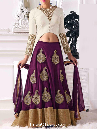 b43c6a67a2 Limeroad partywear designer Lehenga at lowest price Jul 2019 | Freeclues
