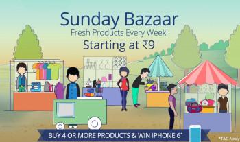 Paytm sunday bazaar Under rs. 1/-