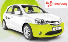 Nearbuy Pay Rs.19 & Get Flat Rs.140 Cashback on Olacabs (New Users Mumbai )