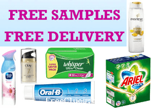 How to avail the offer? (Pick up to 3 samples free on all Pantry orders more than Rs. 500)