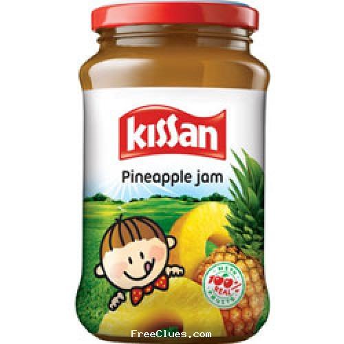 aaramshop Rs.15/- Off on Kissan Pineapple Jam