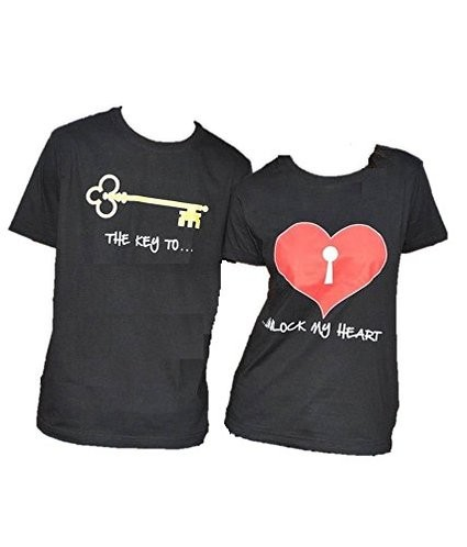 Amazon Valentine Couple T Shirt Combo Of 2