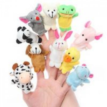 Shopclues [Pre Pay] House of Quirk 10Pcs Animal Finger Puppets aplly code PREPAID100