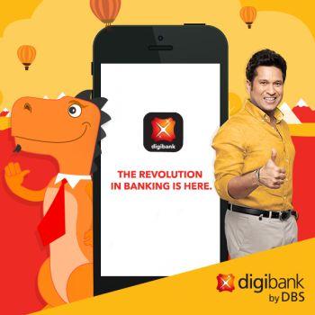 Upto Rs 100 Cashback For 1st time Adding Funds to Digibank using UPI App