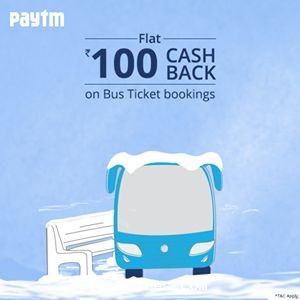 Paytm bus discount coupons