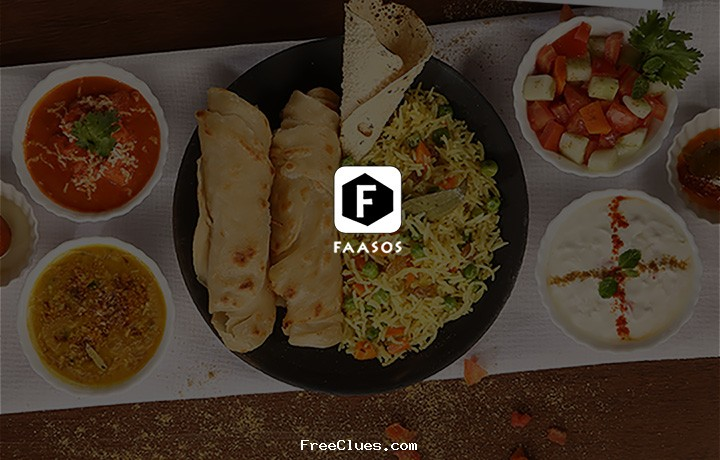 Faasos Republic day special Buy 2 Get 2 + 15% cashback