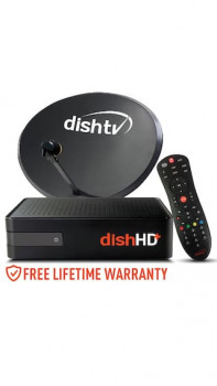Tata Sky HD Set Top Box + 1 Month Existing Pack FREE + 1 Month HD Access FREE (Worth Rs.175) For Rs. 899