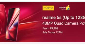 Sale realme 5S sale