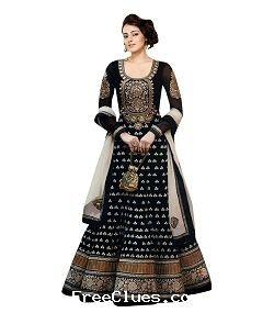 d5843f404e3 Snapdeal Flat 60% - 80% off on Women Gorgeous Anarkali Suits & Dress  materials