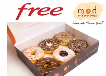 Free Samples FREE Donuts from Mad Over Donuts [ Mumbai Only ]