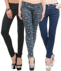 fff3eac4d34bdd Snapdeal womens cotton jeggings, jeans & capris starting at rs. 159 ...