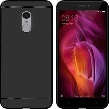 huge selection of 67fa2 d7db4 Emartos Back Cover for Mi Redmi Note 4 (black, Waterproof, Rubber ...