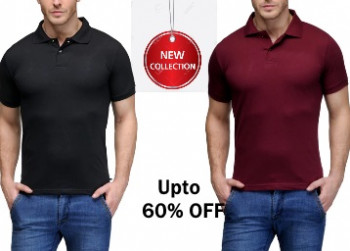 mrvoonik Flat 60% OFF On Branded Men T-shirts Starts at just Rs.159