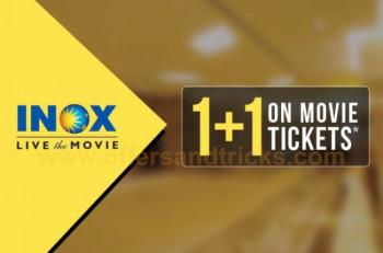 Paytm :- Get 100% Cashback upto 200₹ on Booking of 2 or more Movie Tickets of INOX Cinemas CODE : 'INOX'