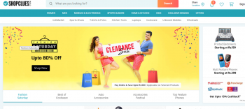 Shopclues FAshion saturday 70% off