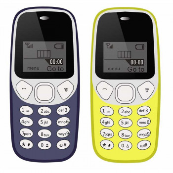 Free Samples I KALL K71 ellow Feature Phone