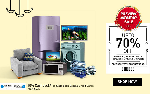 d9b228364a1 Snapdeal Preview Monday Sale  Upto 70% off on Fashion
