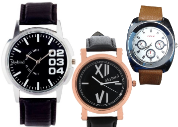 b93d21273 Flipkart Watches offer   Buy Branded Leather Watches starting at rs. 99 -