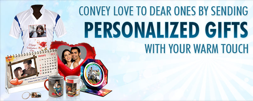 valentine day customized or personalized gifts and get flat 25, Ideas