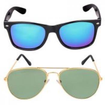 7b329ba2f7f Criba Anti-Reflective Aviator Unisex Sunglasses - (KCNB