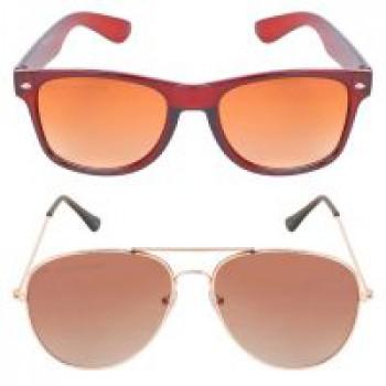 f6de95ed373 Criba Anti-Reflective Wayfarer Unisex Sunglasses - (KCBNDF