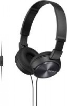 Sony 310AP Wired Headset with Mic(Black, Over the Ear)