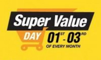 [Upto 20% Cashback] Amazon Super Value Day 1st - 7of Every Month